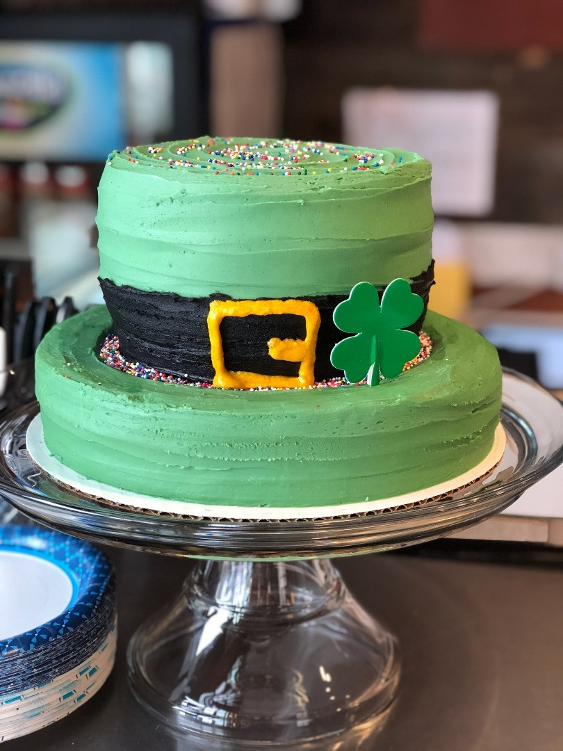 St. Patricks Day cake - 29