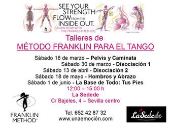 Talleres de Método Franklin para el Tango