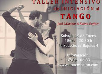 Nuevo curso intensivo de iniciación en enero: para empezar el año bailando!