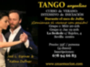 tango workshops in spain