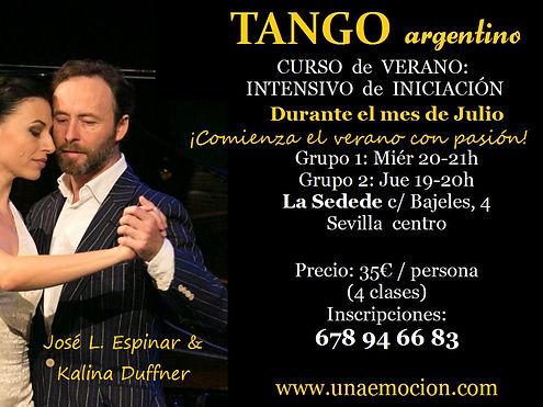 tango workshops in spain