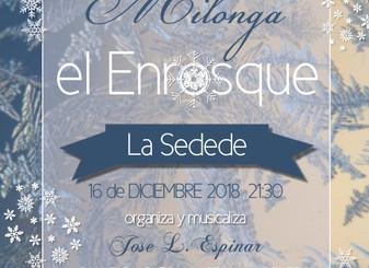 Milonga el Enrosque 14 de diciembre