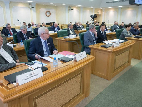 А.Н. Пилясов принял участие в заседании Совета по Арктике и Антарктике при Совете Федерации