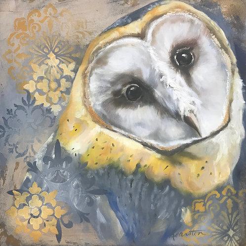 Mandela Dream Owl 12x12
