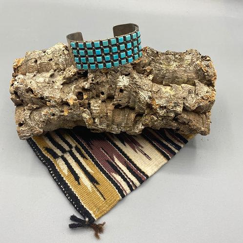 Turquoise Piece Cuff Bracelet