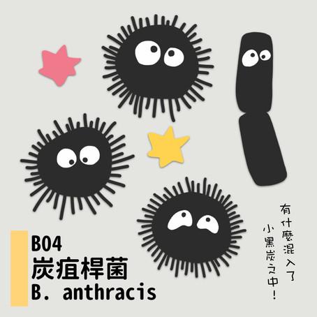 微微生物BACTERIA 04:名偵炭疽桿菌