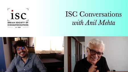 ISC Conversations with Anil Mehta