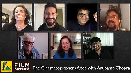 The Cinematographers Adda with Anupama Chopra