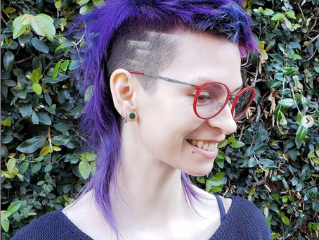 Los Angeles Based Hair Stylist doing AMAZING Mullet and Color work!