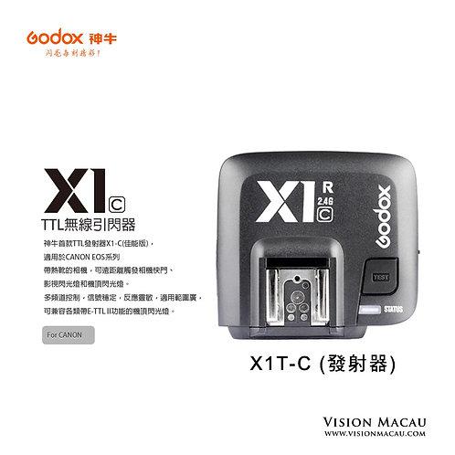 X1R-C TTL 單無線接收器 (Canon)