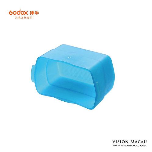 神牛機頂燈專用柔光罩-藍色