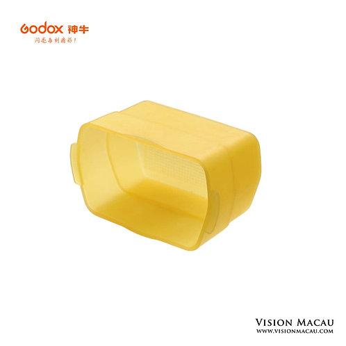神牛機頂燈專用柔光罩-黃色