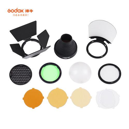 V1, ad200, V860II 外拍燈圓形燈頭附件套裝