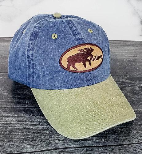 Maine Moose Adjustable Hat
