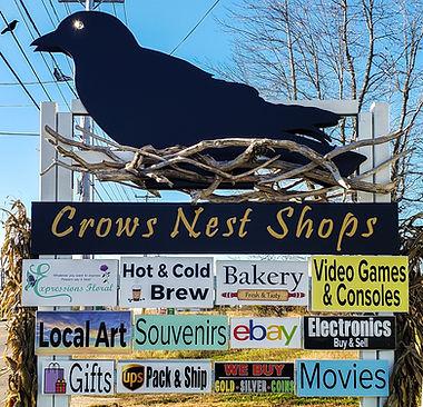 Crows Nest Shops Sign October 31 2020 (1