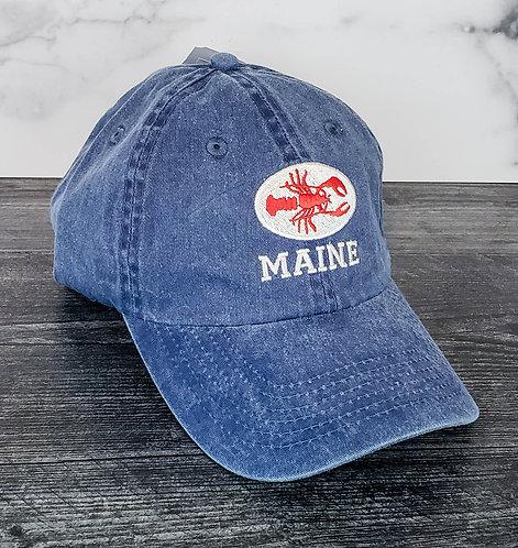 Maine Lobster Adjustable Hat
