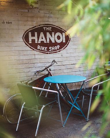 The Hanoi bike shop in th West end of Glasgow, Scotland