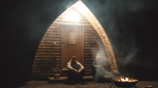 Cabin-Hut-Fire-A-Frame