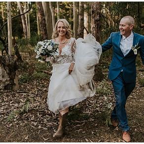 Tiara and Scott's Bewong Wedding