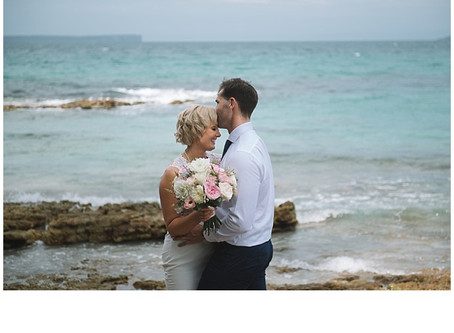Katie and Dane's Jervis Bay Beach Wedding