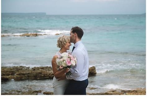 Katie and Dane's Jervis Bay Beach Wedding
