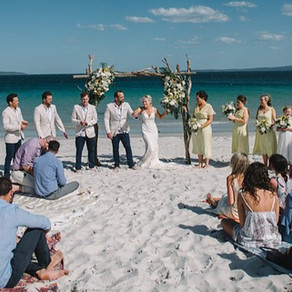 Jervis Bay Beach Weddings