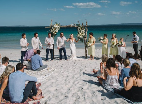 Jervis Bay Beach Weddings