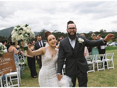 Felicity And Dan's Cambewarra Estate Wedding