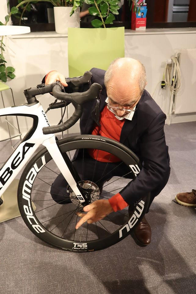 Jacques Blanchot - Cycles Guenin - Orbéa - Newrace