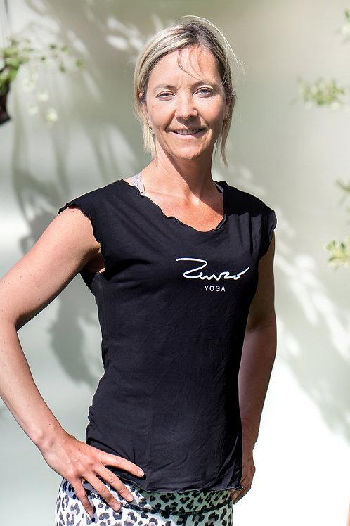 Yoga Shirt Met Kapmouw