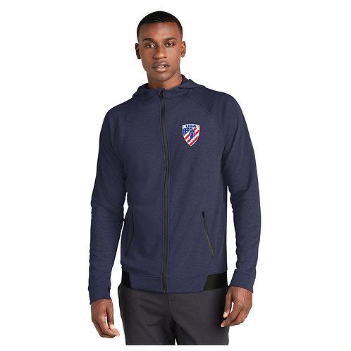 AASA Full Zip Jacket with Hood - His - Navy