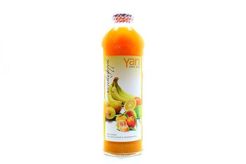 Сок мультифрукт Yan без сахара 930мл