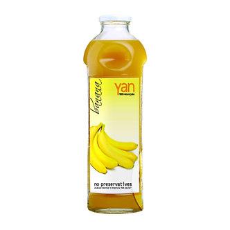 Банановый сок Yan без сахара 930мл