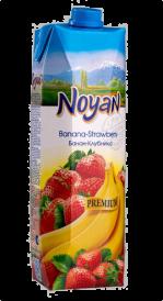 Бананово-клубничный нектар НОЯН 1 л.