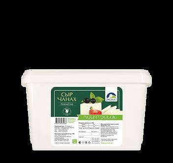 Сыр Чанах в пластмассовых ведрах с рассолом