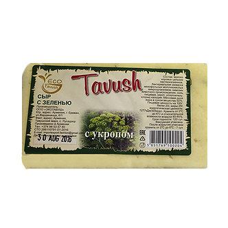 Сыр чанах с укропом