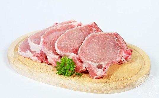 Корейка свиная. Стейки 1кг.