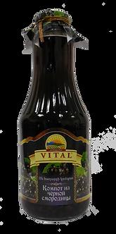 Компот из черной смородины VITAL 1 л.