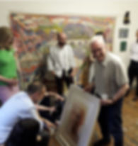 Ray_Bentley_&_Gordon_Dalton_Studio_visit