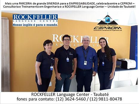 Draft foto parceria ROCKFELLER e CEPROM.