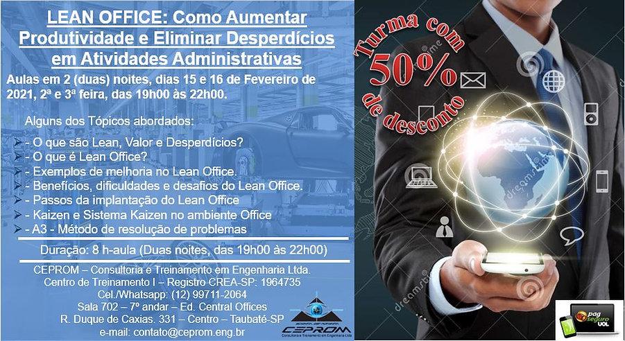 Lean Office 15e16fev 2a e 3a feira a noi