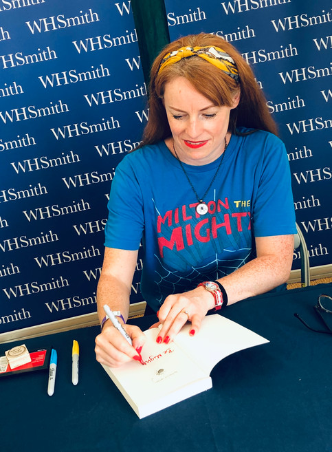 WHSmith signing