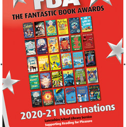 Milton the Mighty nominated for the Lancashire Schools Library Service Fantastic Book Awards