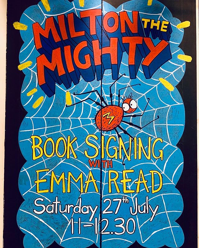 Waterstones Chippenham on July 27th 😁❤️