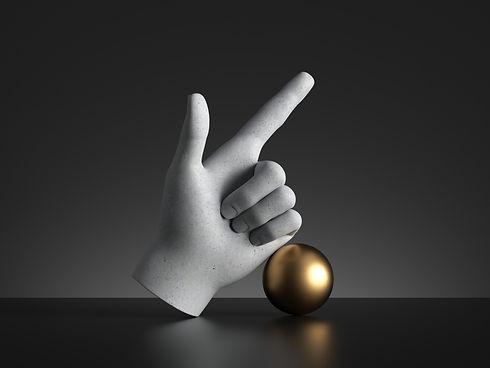 3d-render-mannequin-hand-finger-pointing