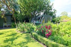 Garden Chalet, Rose Garden and Potting Shed