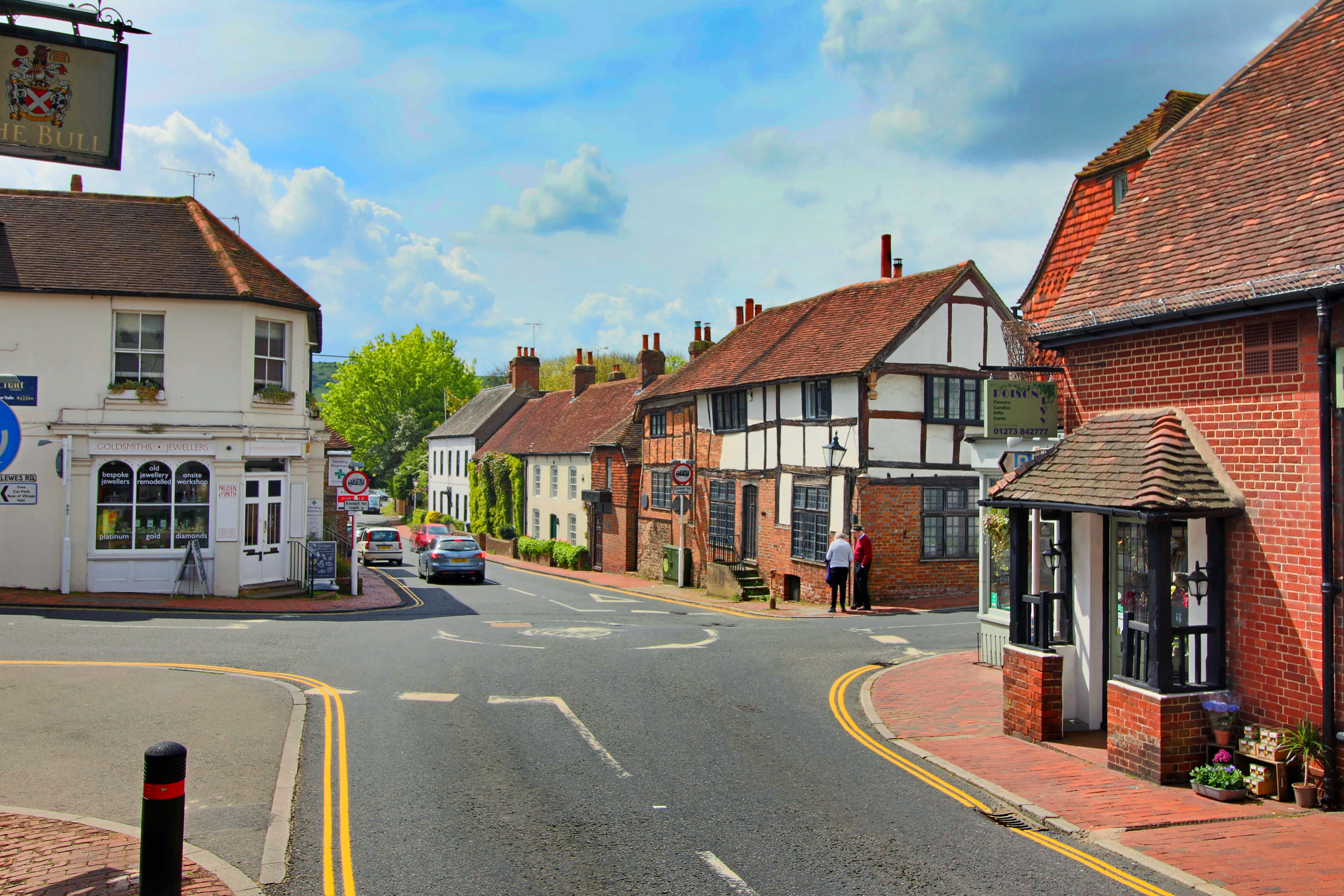 Flat and Ditchling Village
