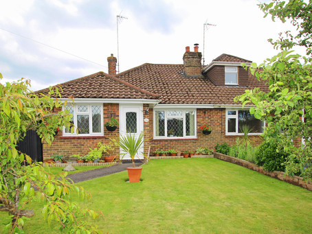 Well presented semi-detached 2 bedroom bungalow with potential to enlarge STNC.