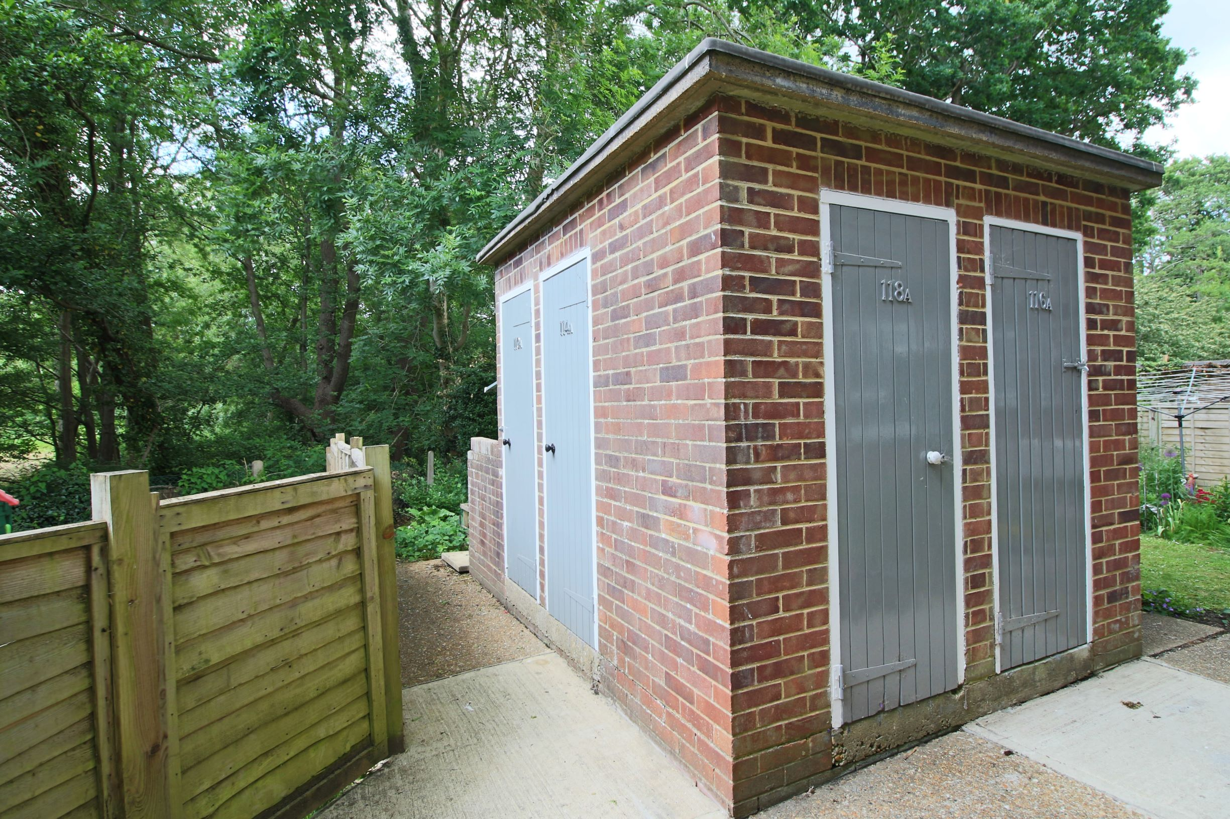 Brick Built Storage