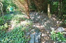 Garden past bridge 1